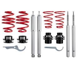 RedLine Coilover Kit suitable for BMW E30 Touring/ Cabrio 316/316i/318i/320i/323i/325i/324D/TD, 5.86-5.93, only for 51 mm front strut