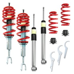 RedLine Coilover Kit suitable for Audi A4 B6 and B7 (8e) Avant and Cabrio 1.6, 1.8T, 2.0, 2.0 FSI, 2.4, 3.0, 1.9TDI, 2.5TDI except vehicles with four-wheel drive