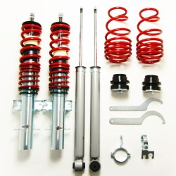 RedLine Coilover Kit suitable for VW Polo type 6R 1.2, 1.4, 1.6, 1.4 TDi, 1.6TDi, year 2009-